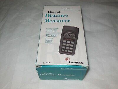 Radioshack Ultrasonic Distance Measurer Radio Shack 63-1005 W Box New