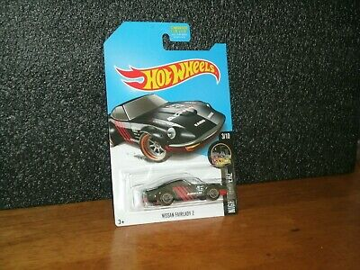 2017 Hot Wheels Nightburnerz Super Treasure Hunt Nissan Fairlady Z /Protector