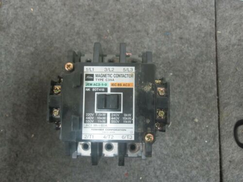 TOSHIBA C35A magnetic contactor