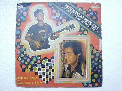 BATUK NANDY SAMPLE NOT FOR SALE GUITAR ELECTRIC HAWAIIAN  RARE LP BOLLYWOOD EX