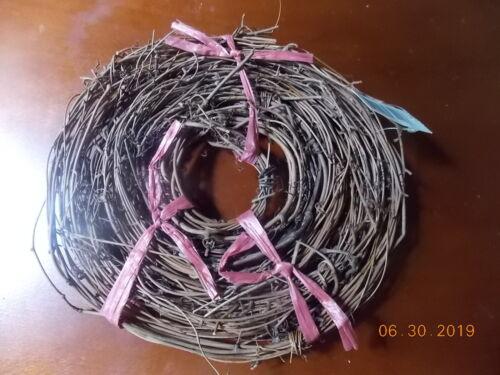 "Grapevine Wreath Twig Garland 3/4"" Thick 10 Feet"
