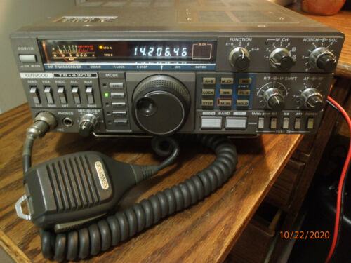 KENWOOD TS-430S HF Transceiver with FM Board