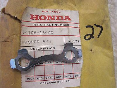 Genuine Honda A8 Tongued Washer - Set of 3 - 94108-18000 CB450 CB500 CB550 CB750