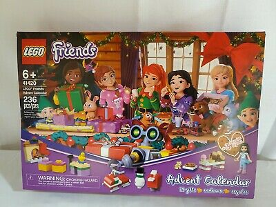 LEGO Friends: Advent Calendar Building Play Set 41420 NEW NIB (236 Pieces)