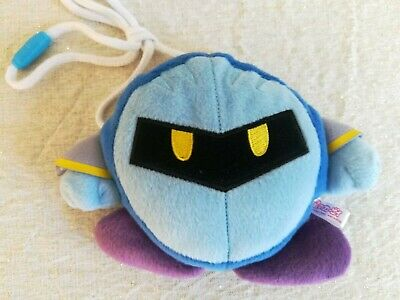 Official Nintendo Kirby Meta Knight Soft Plush Coin Purse