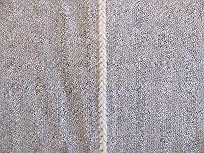 """Authentic Holland & Sherry Fabric """"QUEBRADA"""" in Slate 5+ Yards"""
