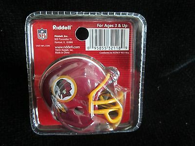 (WASHINGTON REDSKINS Mini Football Helmet SUPER BOWL XXII Riddell Pocket CHAMPS)