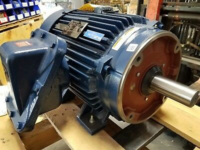 New Marathon 40 Hp 3 Phase Motor With Space Heater  Nd324ttgp18540