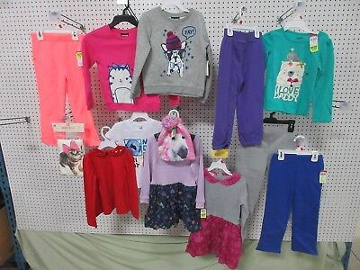 13 TODDLER 4T GIRLS CLOTHES TOP WONDER KIDS JOE BOXER PANTS OUTFIT SWEATSHIRT