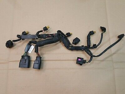 AUDI A4 B8 8K 1.8 TFSI PETROL ENGINE FUEL INJECTOR WIRING LOOM HARNESS 06H971627