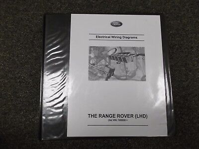 2013 Land Rover Range Rover Electrical Wiring Diagrams Manual 3.0L SC & 5.0L