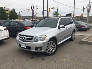 2010 MERCEDES GLK350 | AWD•Leather•NAVI•Pan. Roofs • V6 • Rear C