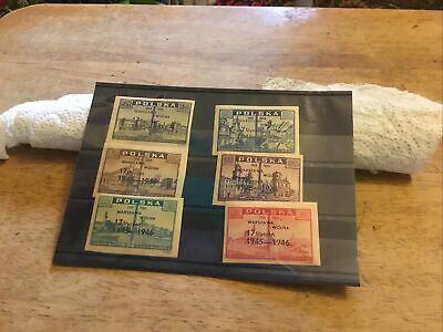 Poland Unmounted Mint Stamp Set