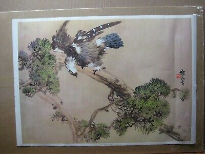 the Conquering eagle Vintage Poster Japanese 1970's printed in Japan Inv#G4859