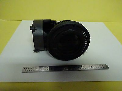 Microscope Part Illuminator Lens Iris Labophot Nikon Japan As Is Binx7-25