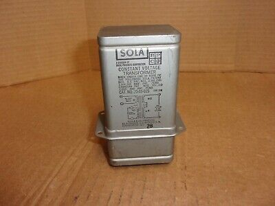 Sola Constant Voltage Transformer 20-03-015 Used