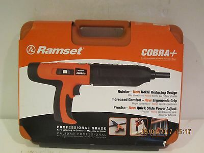 Ramset 16942 Cobra Plus .27 Caliber Semi Auto Powder Actuated Tool-fpr-shipnisb