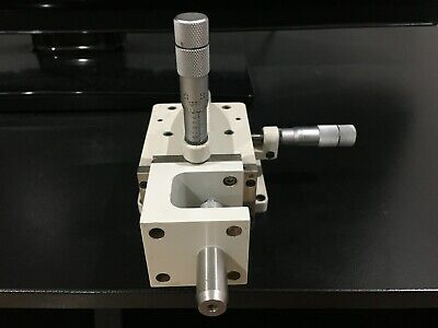 Line Tool 3-axis Linear Stage Xyz 3 Adjustment Micrometers