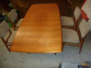 Great Mid Century 7 piece Dining Setting Jan Juc Surf Coast Preview