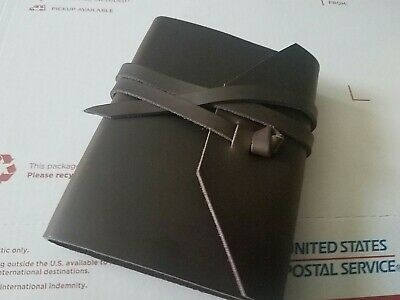 NEW Antony Olivier Best Genuine Brown Leather Journal Travel Diary