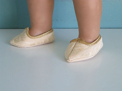 JASMINE SLIPPERS: Great for Genie and Princess Costumes fits American Girl](Jasmine Costumes For Kids)