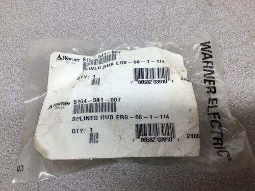 NEW Warner Electric 5154-541-007 Involute Splined Hub for Magnetic Brake