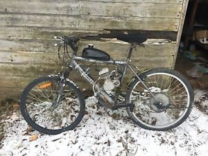 Gas Powered Trail Bike