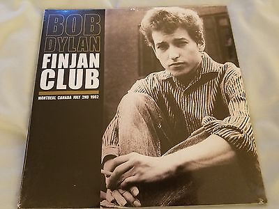 Bob Dylan   Finjan Club Montreal Canada 1962 New Sealed 2Lp Live
