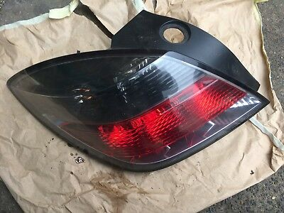 Vauxhall Astra H 3 door hatch 2004-2010 drivers rear light (LIGHTS I)