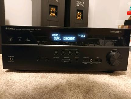 Yamaha 7.1 channel Network AV Receiver HTR6065 (rx-v673)