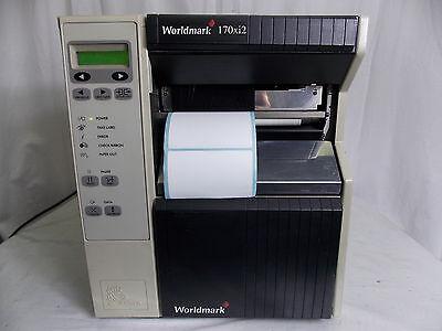 Zebra Worldmark 170xi2 Thermal Label Printer W 2 Thermal Ribbons
