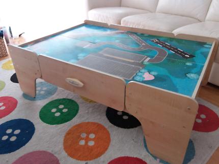 Imaginarium Train Table with Complete Train Track & Trains | Toys ...