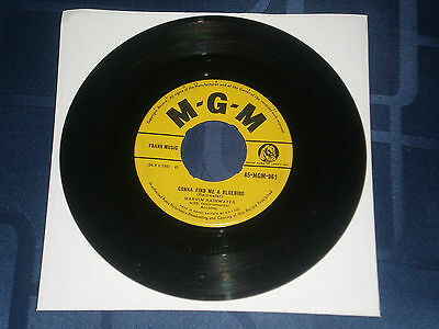 "MARVIN RAINWATER - GONNA FIND ME A BLUEBIRD - 1957 MGM 7"" SINGLE - COUNTRY GEM"