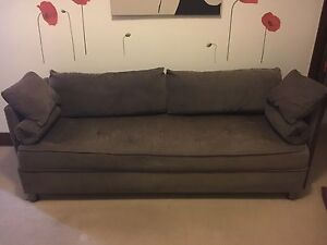 3 Seater Lounge with matching Ottoman Lane Cove Lane Cove Area Preview