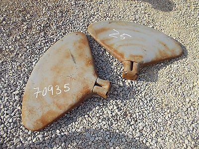 Farmall H Sh M Mta Mv Sm 300 450 400 Tractor Nice Set - Pair Original Ih Fenders