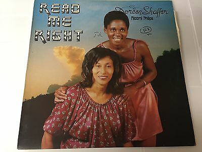 READ ME RIGHT - Doreen Shaffer (LP-6010) NM/EX-