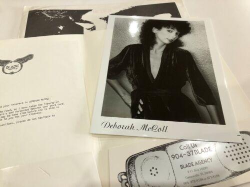 Deborah McColl 8 x 10 Photo Promo 1980