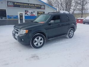 2009 Ford Escape 118K Limited 4X4 SAFETIED