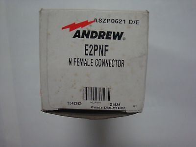 Andrew E2pnf N Female Connector