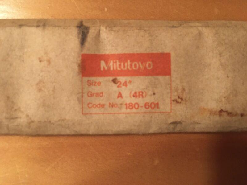 "Mitutoyo 180-601 Grade A 24"" Scale"
