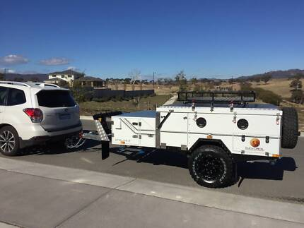 EzyTrail Stirling Z Camper Trailer (almost new)! Googong Queanbeyan Area Preview