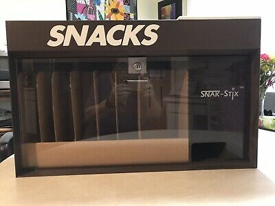 Snak-stix Vending Machine Vintage 1986 Counter Top Candy Dispenser