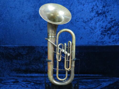 Olds Ambassador 3 Valve Baritone Horn Ser#598114 Good Condition Plays Very Well
