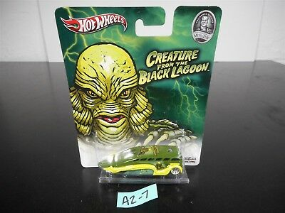 HOT WHEELS CREATURE FROM THE BLACK LAGOON LOW FLOW X348 UNIVERSAL MONSTERS