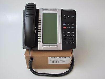 Mitel 5330e Gigabit Enhanced IP Phone 50006476 Fully Refurbished 1 Year Warranty