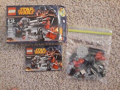 LEGO Star Wars 75034 Death Star Troopers Battle Pack 100% Complete
