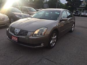 2004 Nissan Maxima 3.5 SE    $2,900 AS IS