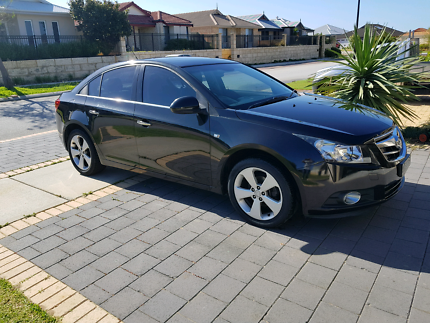 2011 Holden Cruze JG AUTOMATIC LOW KLMS LEATHER CDX Black 6 Speed