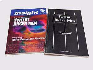 12 Twelve Angry Men - Reginald Rose - Play & Text Guide Cranbourne South Casey Area Preview