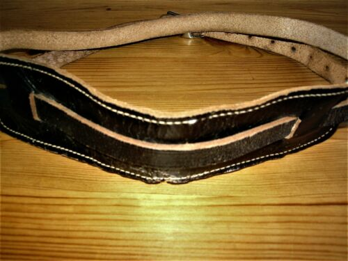 Fender Stratocaster 1950s Guitar Strap with Anchor tooling stamp.